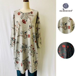 Reservations Orders Items [ 2020NewItem ] Vintage Floral Pattern Tunic One-piece Dress