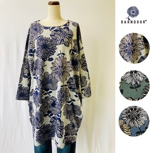 Reservations Orders Items [ 2020NewItem ] Floral Pattern Tunic One-piece Dress