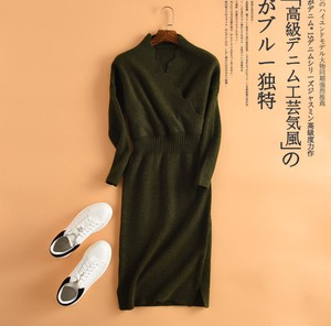 A/W Jersey One Piece Commuting One-piece Dress 20