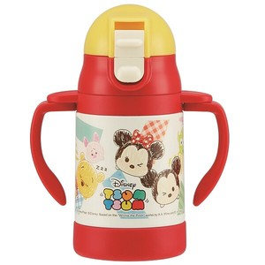 Baby Product Both Hands Straw Stainless Mug Tsum Tsum Sketch
