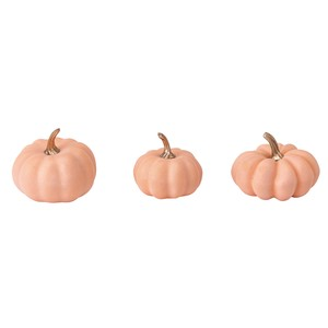 Pumpkin Assort Coral Pink Halloween Decoration Material