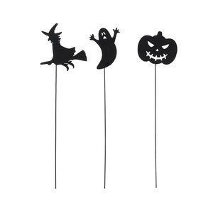Pick Black Decoration Material Halloween
