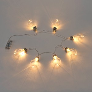 Clear Bubble Light Decoration Light LED Light Flower Material
