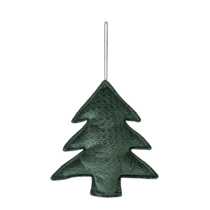Objects and Ornaments Ornament Tree Ornament Green Beige Christmas Ornament