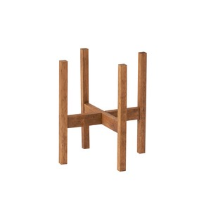 Wood Stand Middle Planter Stand