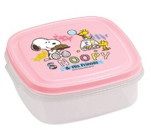 SNOOPY Square Shape Sweets Pink