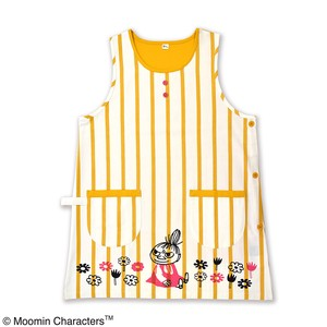 The Moomins Apron Flower Stripe Mustard