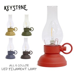 Stone LED LAME LED Lamp Lantern Antique Outdoor Good