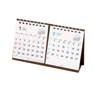 Calendar Basic Petit Table-top Notebook Calendar