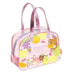 Rilakkuma Pool Bag Boston Fruit Relax Items