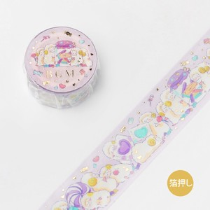 [BGM] Washi Tape  / Masking Tape Foil Stamping Animal Party Candy