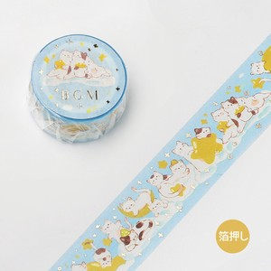 [BGM] Washi Tape  / Masking Tape Foil Stamping Animal Party