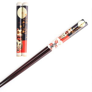 Fortune Beckoning cat Chopstick Call Beckoning cat Full Moon
