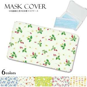"Reservations Orders Items ""2020 New Item"" Floral Pattern rose Design Mask Case Mask Cover"