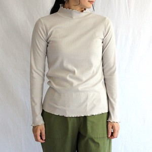 Wide Teleko High Neck Knit Tops /Women's Fashion