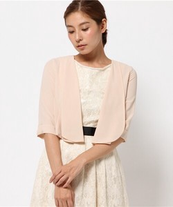Sink Chiffon Jacket Wedding Bolero Jacket