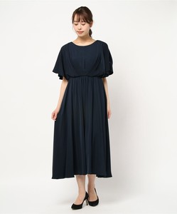Attached Long One-piece Dress
