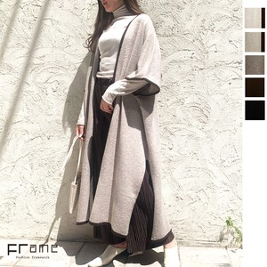 Reserved items Recycling Polyester pin Knitted Cape Coat