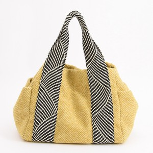 New Metallic Mesh Handle Tote Bag
