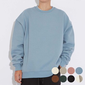 A/W 8 Colors Big Raised Back Sweat Crew Neck Sweatshirt