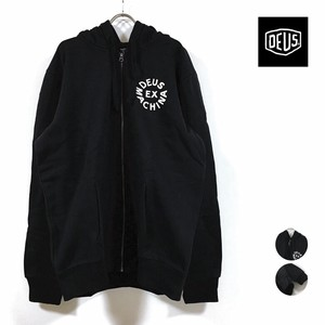 CIRCLE Hoody Long Sleeve Raised Back Men's