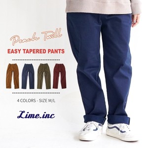 Pants Raised Back Stretch Twill