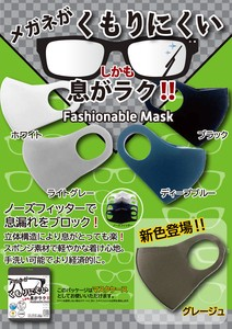 Eyeglass Mask Nose Fitter Attached