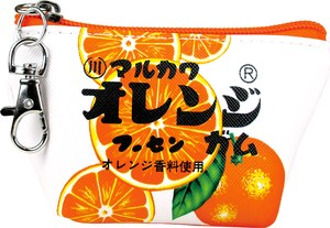 Release Sweets Series Triangle Mini Pouch Orange