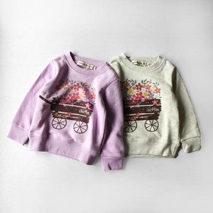 Flower Push Print Sweatshirt