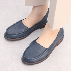 A/W 3 Colors Genuine Leather Straight Cut Casual Shoe