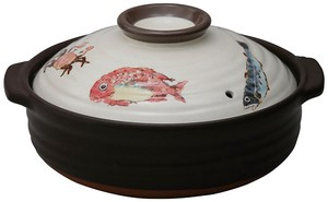 Fish Direct Flame Earthen Pot / Clay pot