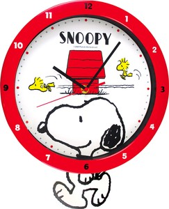 Snoopy Swing Clock Dog House