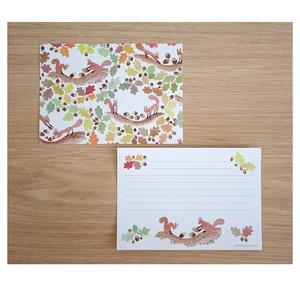 "Letter Paper ""Let's fill the acorn"" 35 Pcs"