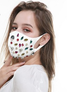 [ 2020NewItem ] Adult Drill Color Cloak Mask Pollen Countermeasure Round Return Available