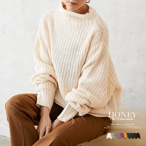 A/W High Neck Knitted Top [ 2020NewItem ]