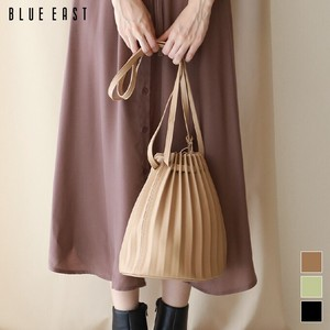 Eco Leather Pouch Pleats Bag