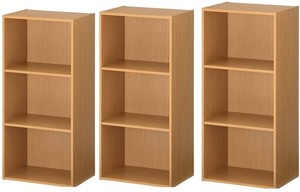 カラーボックス 収納ボックス 3段 3個セット(大口) 条件付き送料無料