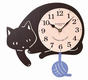 クーナ 振り子時計 クロネコ