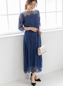 20 Spring Items Lace Long Dress