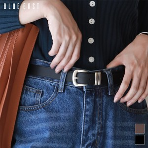 Eco Leather Square Buckle Belt