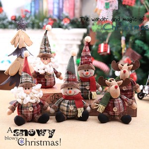 [ 2020NewItem ] 2Pcs set Christmas Soft Toy Christmas Tree Doll Ornament Present 6 Types