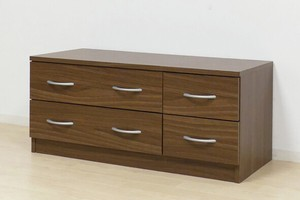 Broom Low Chest Walnut