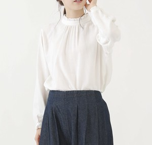"""2020 New Item"" Stand Frill Blouse"