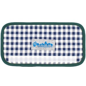 Navy Checkered Green Checkered Water Flask Belt Cover