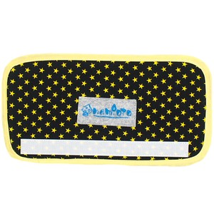 Black Yellow Star Lime Dot Water Flask Belt Cover