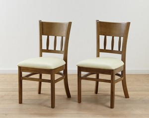 Dining Chair 2 Pcs March Light Brown