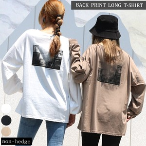 Bag Print Print Long T-shirts