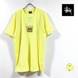CROWN T-shirt Short Sleeve Men's