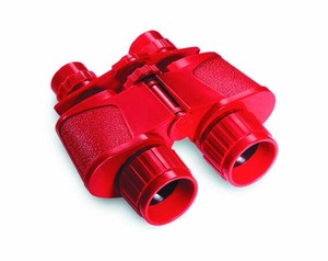 Binoculars Attached Case Red