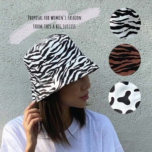 Animal BUCKET HAT BUCKET HAT Hats & Cap ZEBRA Dalmatian